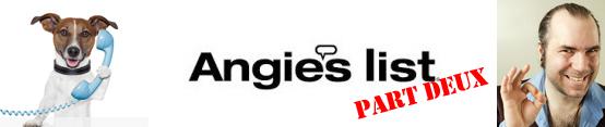 Angie's List Advertising Part Deux
