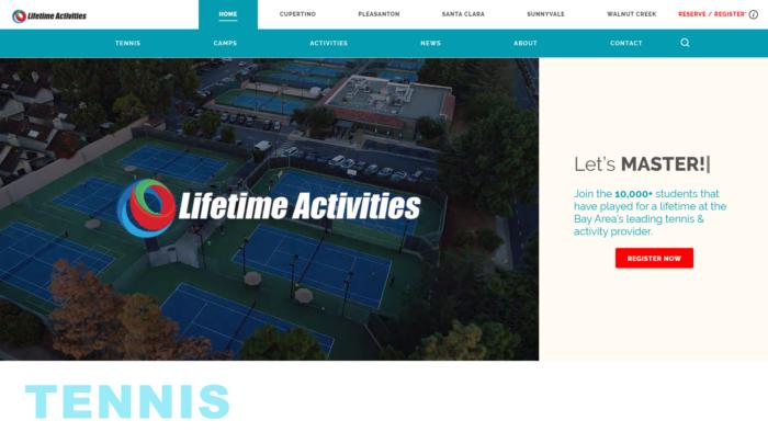 lifetime homepage