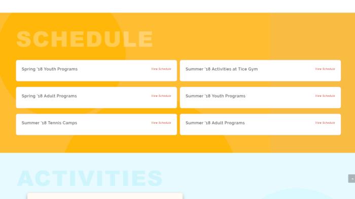lifetime scheduling